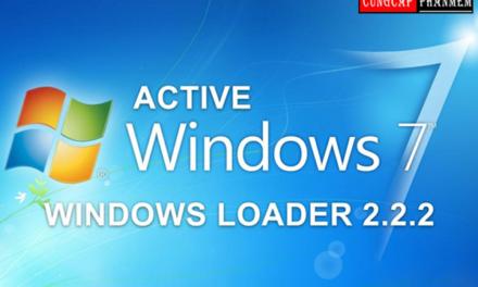 Hướng dẫn tải Windows Loader 2.2.2 mới nhất