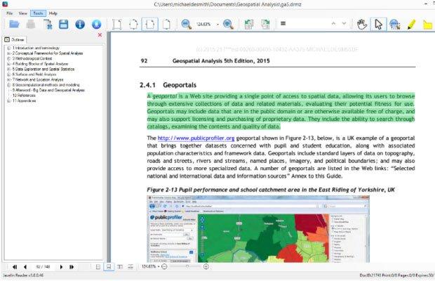 Phần mềm Javelin PDF Reader