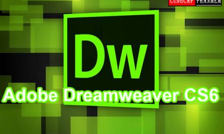 Hướng dẫn cài đặt dreamweaver cs6 đơn giản