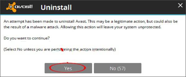 cách xóa phần mềm avast free antivirus